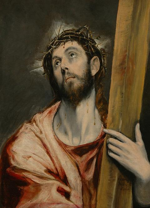 Cristo portando la cruz