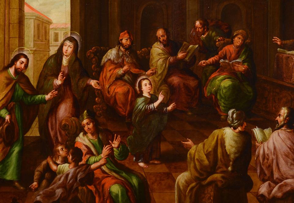 Cristo entre los doctores